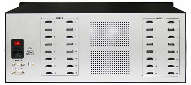 16进16出HDMI矩阵
